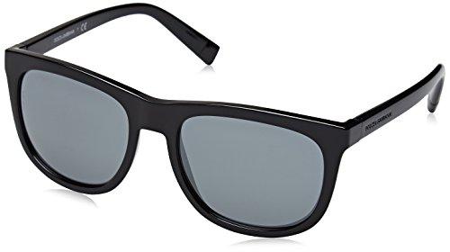 D&G Dolce & Gabbana Men's 0dg6102 Square Sunglasses, Black, 55 mm