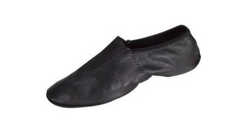 DanceNwear Leather Gymnastic Shoe (10ch, Black)