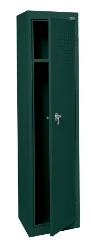 Sandusky LF11151866 22 Gauge Welded Steel Single Tier Storage Locker, 15