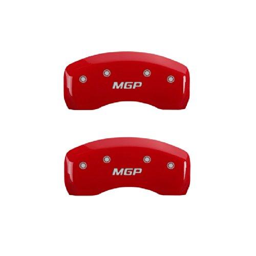 MGP Caliper Covers 11197SMGPRD Red Caliper Cover