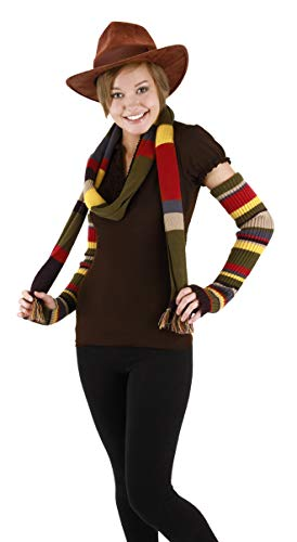 elope Dr. Who Fourth Doctor Knit Arm Warmers -