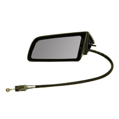 1992 Oldsmobile Cutlass Ciera (1982-1996 Buick Century, Olds/Oldsmobile Cutlass Ciera, Pontiac 6000 & 1982-1990 Chevy/Chevrolet Celebrity & Citation Manual Remote Cable Black paint to match Rear View Mirror Left Driver Side (1982 82 1983 83 1984 84 1985 85 1986 86 1987 87 1988 88 1989 89 1990 90 1991 91 1992 92 1993 93 1994 94 1995 95 1996 96))