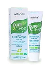 Nelsons Acne Gel,Pure & Clear, 1 oz Pack_2
