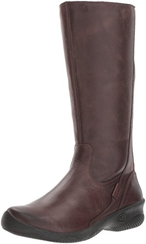 KEEN Women's Baby Bern II Wide-w Rain Boot, Mocha, 10 M US by KEEN
