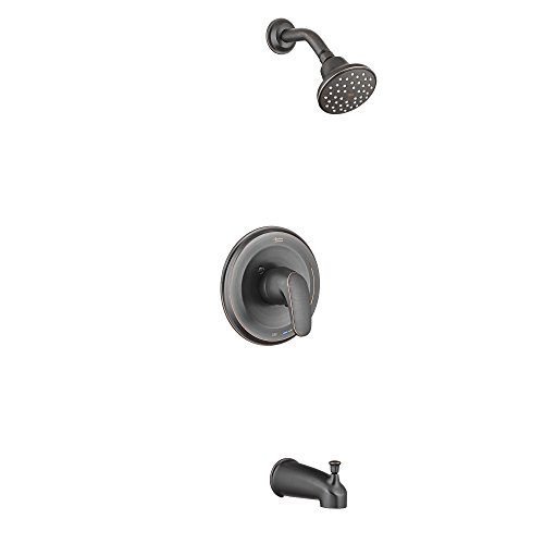 (American Standard T075508.278 Colony Pro Water Saving PB Bath/Shower Trim Kit, Legacy Bronze)