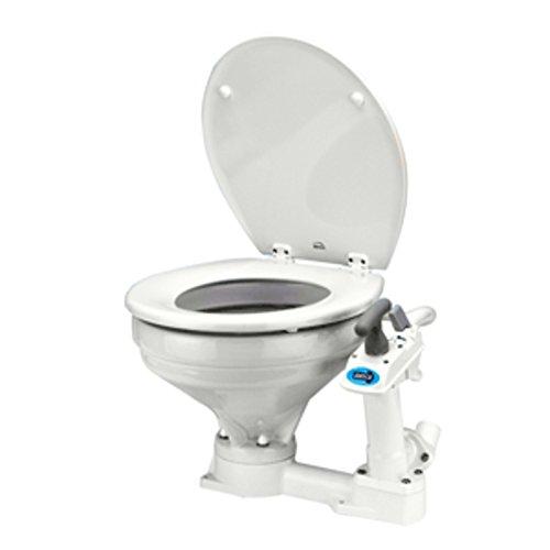 Jabsco Manually Operated Marine Toilet - Regular Bowl Marine , Boating ()