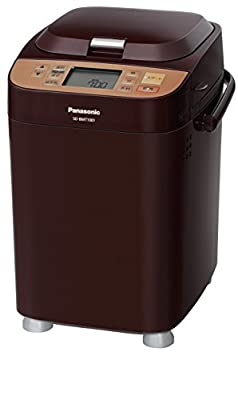 Panasonic Home Bakery 36menu (With Rice Cake,udon Nioodle and Pasta Maker) Loaf Type Brown Sd-bmt1001-t