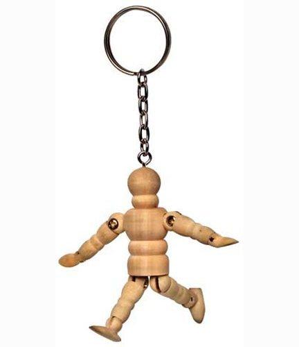 Arty Micro Manikin Keychain Chain Art