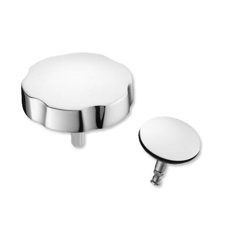 Ideal Standard E5800AA Chrome Pop Up Waste Handle and Cover, Shower