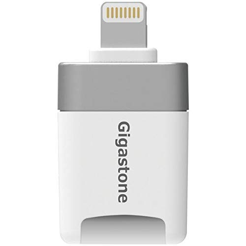 [Apple MFI Certified] Gigastone iPhone Flash Drive, MicroSD Card Reader, Lightning for iPhone and iPad, App for iOS, 4K… | DccBuyer