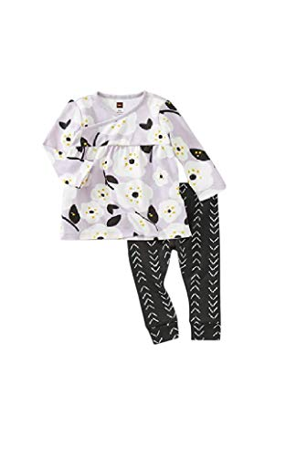 (Tea Collection Pattern Play Set, 3-6 Months, Pop Floral)