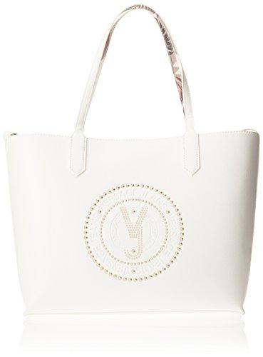 bianco Hombro Mujer Bolso E003 Blanco Ottico Jeans De Linea Q Versace Aq8OSCw8