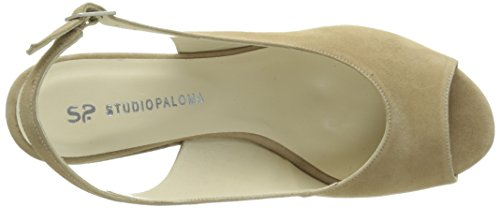 Studio Paloma 19546, Women's Sandals Marron (Ante Brandy)