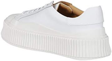 Luxury Fashion | Jil Sander Dames JS32108A12021101 Wit Leer Sneakers | Herfst-winter 20