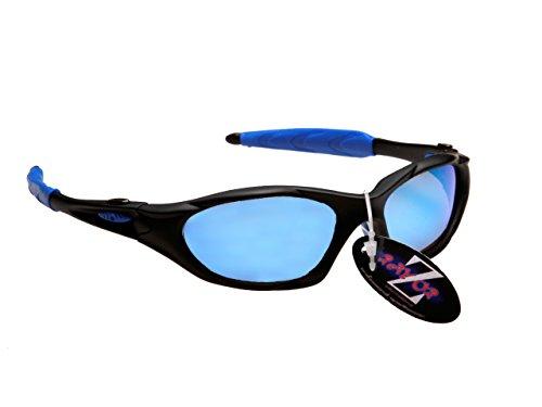 Lunettes avec Noir professionnel Wrap léger anti de UV400 soleil Sport ébpus6ELoogmsement Blue Ski Iridium Rayzor miroir Lens Af0xtA