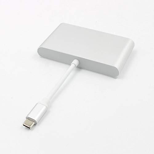 3 en 1 Mini Display Port Dp Thunderbolt a Dvi Vga Hdmi Cable adaptador para TwoCC Electr/ónica de consumo