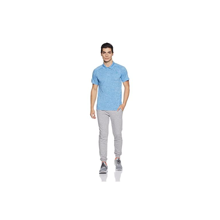 31dAUIzclrL. SS768  - Adidas Men's Plain Regular Fit Polo