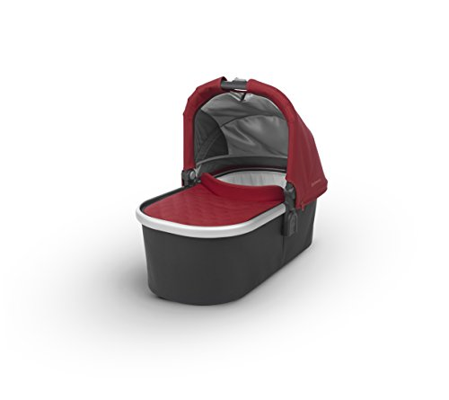 2018 UPPAbaby Bassinet - Denny (Red/Silver)