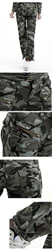 Voguehive - Pantalon de sport - Droit - Tie-Dye - Femme