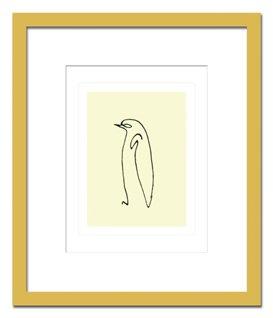 名画抽象画 Pablo Picasso パブロ ピカソ Le pingouin, 1907 ペンギン、1907 B00CRFBCS0