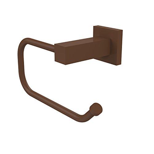 Allied Brass MT-24E-ABZ Montero Collection Euro Style Toilet Tissue Holder Antique Bronze Allied Brass Antique Paper Towel Holder