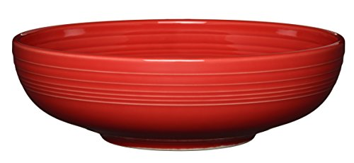 Fiesta Bistro Serving Bowl, 96 oz, Scarlet (Extra Serving Bowl Large)