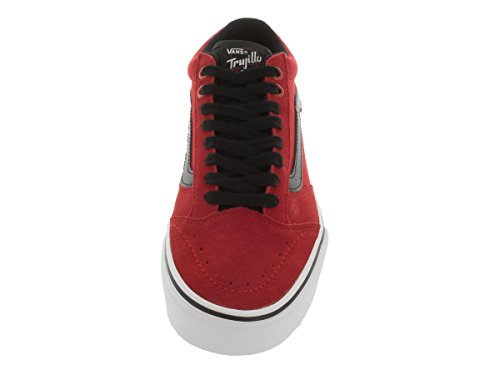 Vans Mens Tnt Sg Fel Rood / Zwart / Wit Skate Schoen