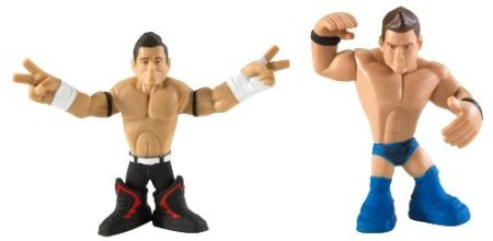 WWE Rumblers Evan Bourne And The Miz Figure 2-Packs by 5Star-TD