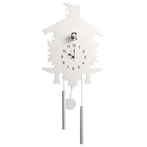 Mascagni Orologio in legno con pendolo e cucù 2IA A326