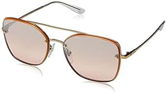 Vogue Kadın Güneş Gözlükleri 0VO 4112S 50757E 56, ROSE GOLD\LIGHTPINKMIRRORGRADSILVER,