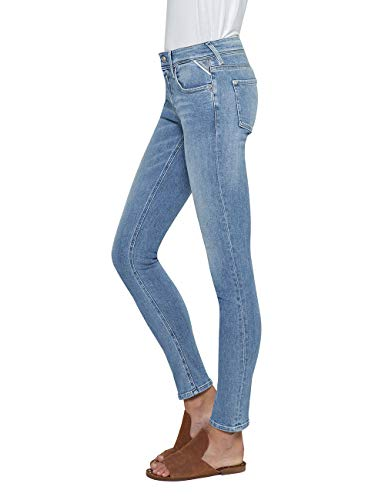 Skinny Blu Donna Jeans Coin 10 Blue Zip Luz Replay light xwgHaqvC