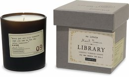 Paddywax Library Collection Boxed Glass Candle - Mark Twain