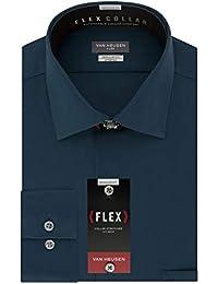 6d4b0f68ca2b Men s Dress Shirt Flex Regular Fit Solid