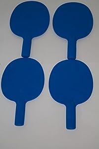 4Xrobust Tischtennisschläger/Kunststoff/Spiel/Auktion Pingpong-Schläger &...