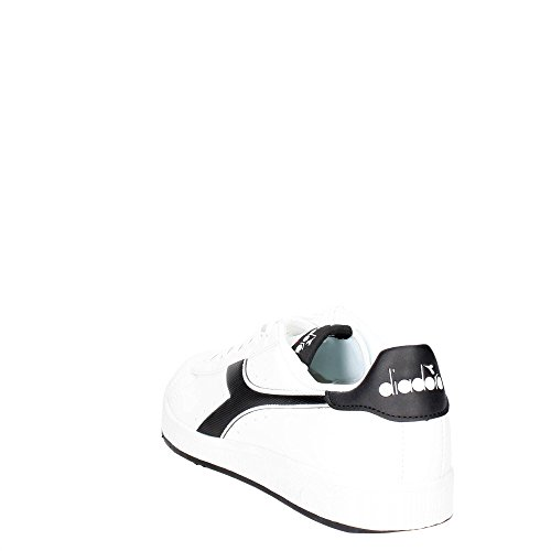 Baja Zapatilla Deporte P Cuello Game Diadora Adulto Bianco Unisex del de Uaw6UZq