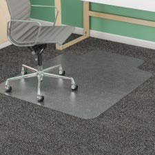 DEFCM14433F - Deflect-o SuperMat Studded Beveled Mat for Med Pile Carpet