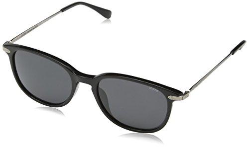JAKY Global - Lunettes de soleil - Homme gris Black Frame Grey Lens htF5NUp9