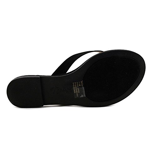 Open Beda Sandal Sodi Thong Toe Black Thalia Synthetic 7TEwqUx