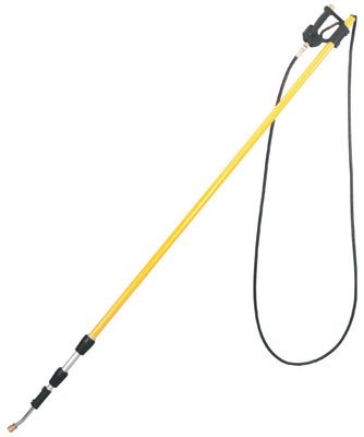 (General Pump Telescoping Pressure Washer Wand - 4,000 PSI, 6ft. to 12ft. Length, Fiberglass/Aluminum, Model# DLTG12)