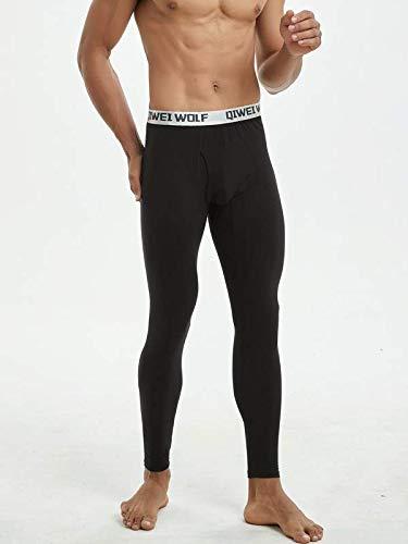 Largos CLOUSPO Calzoncillos Largos para Hombre Pantalones t/érmicos para Hombre c/álidos t/érmicos Ligeros Calzoncillos Largos Suaves c/ómodos