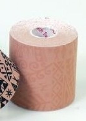 Sammons Preston DT05PL Dynamic Tape Tattoo, Beige, 2'' x 16.4', 1 Roll