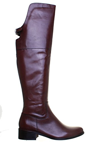 Justin Brown 100 Boots Riding Extra Reece Knee Womens Leather Adeline Dark High rqTtPwr