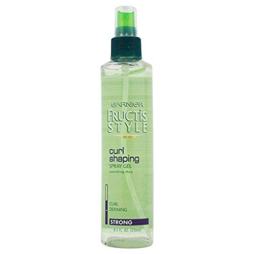 8.5 Ounce Spray Gel (Garnier Fructis Style Spray Gel Curl Shaping Strong 8.5 OZ (Pack of 9))