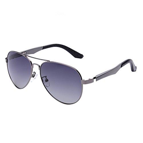A Mirror Hipster GAOYANG Polarizer De Mirror A Color De Driver De Sol Sol Gafas Driving Gafas Caballero Espejo qBAA7Xaxw