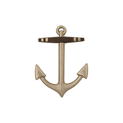Anchor Door Knocker - Nickel (Standard Size)