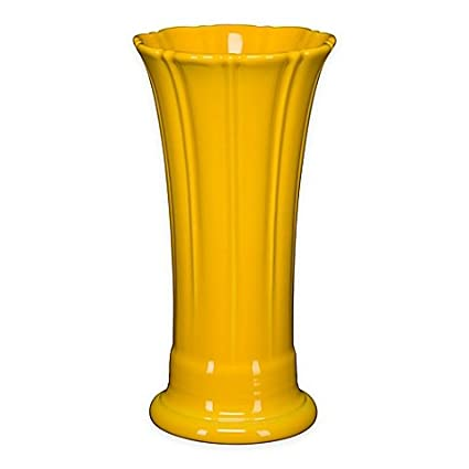 Amazon Fiesta Medium Vase In Daffodil Home Kitchen