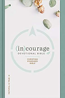CSB (in)courage Devotional Bible by [CSB Bibles by Holman]