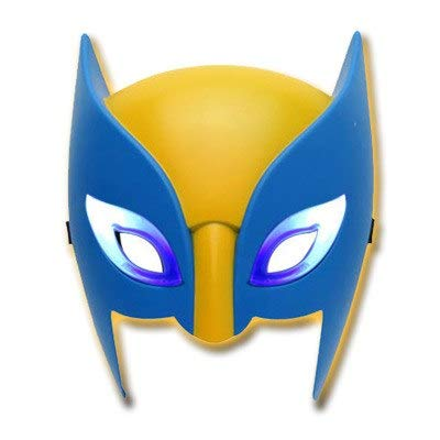 DORISE Wolverine Claws 10 inch ABS X-Men Wolverine Claw and Mask Play Props Cosplay Toy Wolverine Mask Led Superhero X-Man Kit Action Figure Children Toy Gift