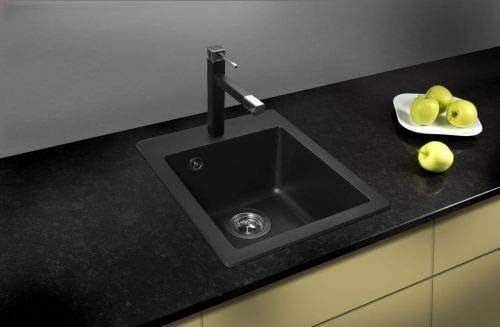 Shigo Granit Composite Sp/ülbecken GQS100W-601