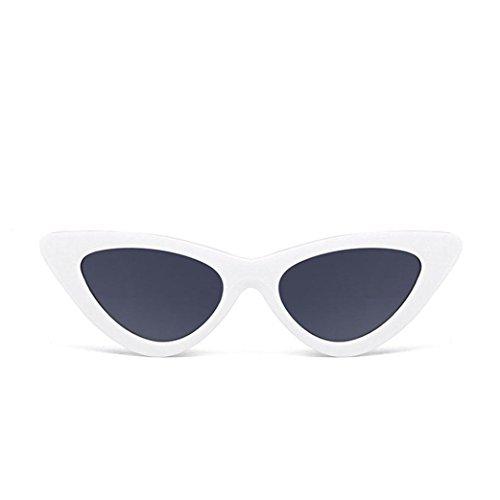 Petites Lunettes De Soleil En Yeux De Chat Pointues,OverDose Femme Intégré UV Mode Sunglasses K
